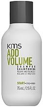 Kup Szampon do włosów dodający objętości - KMS California AddVolume Shampoo (miniprodukt)