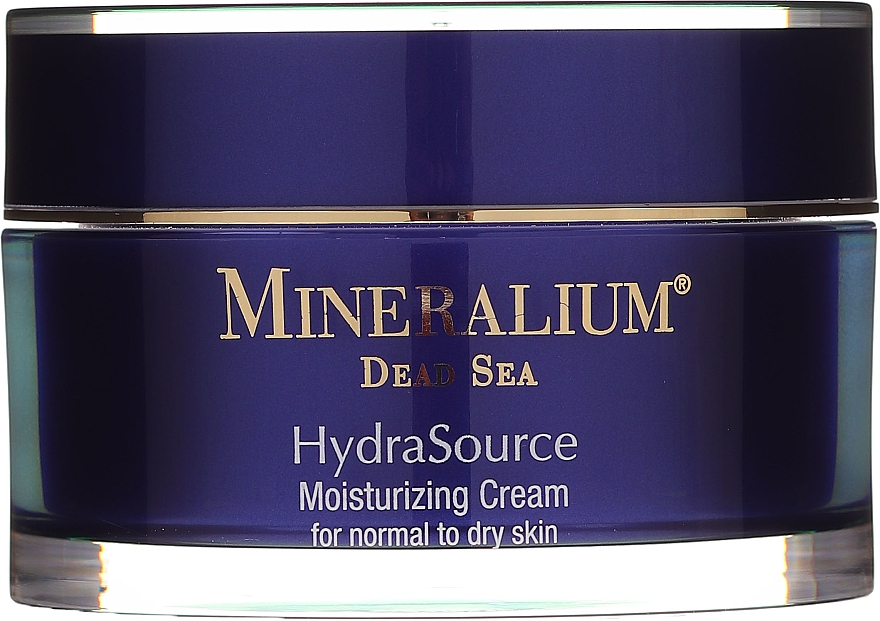 Nawilżający krem do cery normalnej i suchej - Mineralium Dead Sea HydraSource Moisturizing Cream For Normal To Dry Skin — фото N2