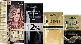 Kup PRZECENA! Rozjaśniacz do pasemek i balejażu - Joanna Multi Blond Super *
