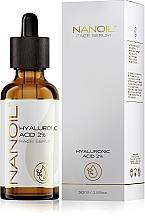 Kup Serum do twarzy dla każdego rodzaju cery z kwasem hialuronowym - Nanoil Face Serum Hyaluronic Acid 2%