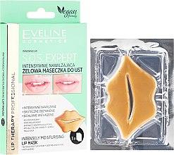 Kup Intensywnie nawilżająca żelowa maseczka do ust - Eveline Cosmetics Lip Therapy Professional S.O.S. Expert