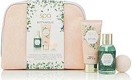 Kup Zestaw dla mężczyzn - Style & Grace Spa Botanique Cosmetic Bag Set (sh/gel/100ml + b/lot/100ml + fizzer/55g + bag)
