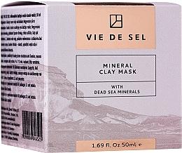 Kup Glinkowa maseczka do twarzy z minerałami z Morza Martwego - Vie De Sel Mineral Clay Mask With Dead Sea Minerals