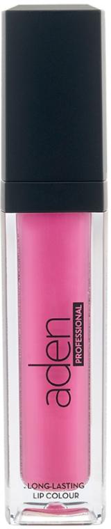 Szminka do ust w płynie - Aden Cosmetics Plumping Lip Lacquer — фото N1