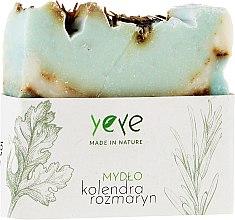 Kup 100% naturalne mydło w kostce Kolendra i rozmaryn - Yeye