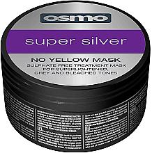 Kup Srebrna maska do włosów niwelująca żółte tony - Osmo Super Silver No Yellow Mask