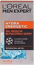 Kup Żel przeciw błyszczeniu się skóry Aqua-Gel - L'Oreal Paris Men Expert Hydra Energetic Aqua-Gel