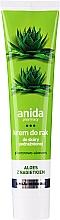 Kup Glicerynowo-aloesowy krem do rąk do skóry podrażnionej Aloes z nagietkiem - Anida
