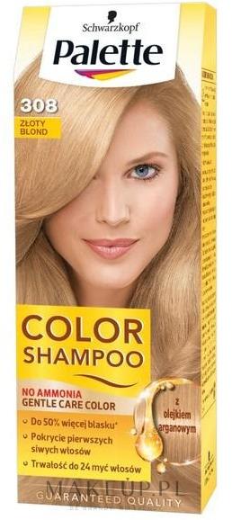 PRZECENA! Szampon koloryzujący - Schwarzkopf Palette Color Shampoo * — фото 308 - Gold Blond
