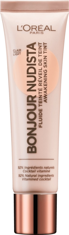 Krem BB do twarzy - L'Oreal Paris Bonjour Nudista Cream BB