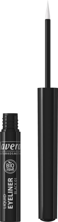 Eyeliner w płynie - Lavera Liquid Eyeliner Organic — фото N2