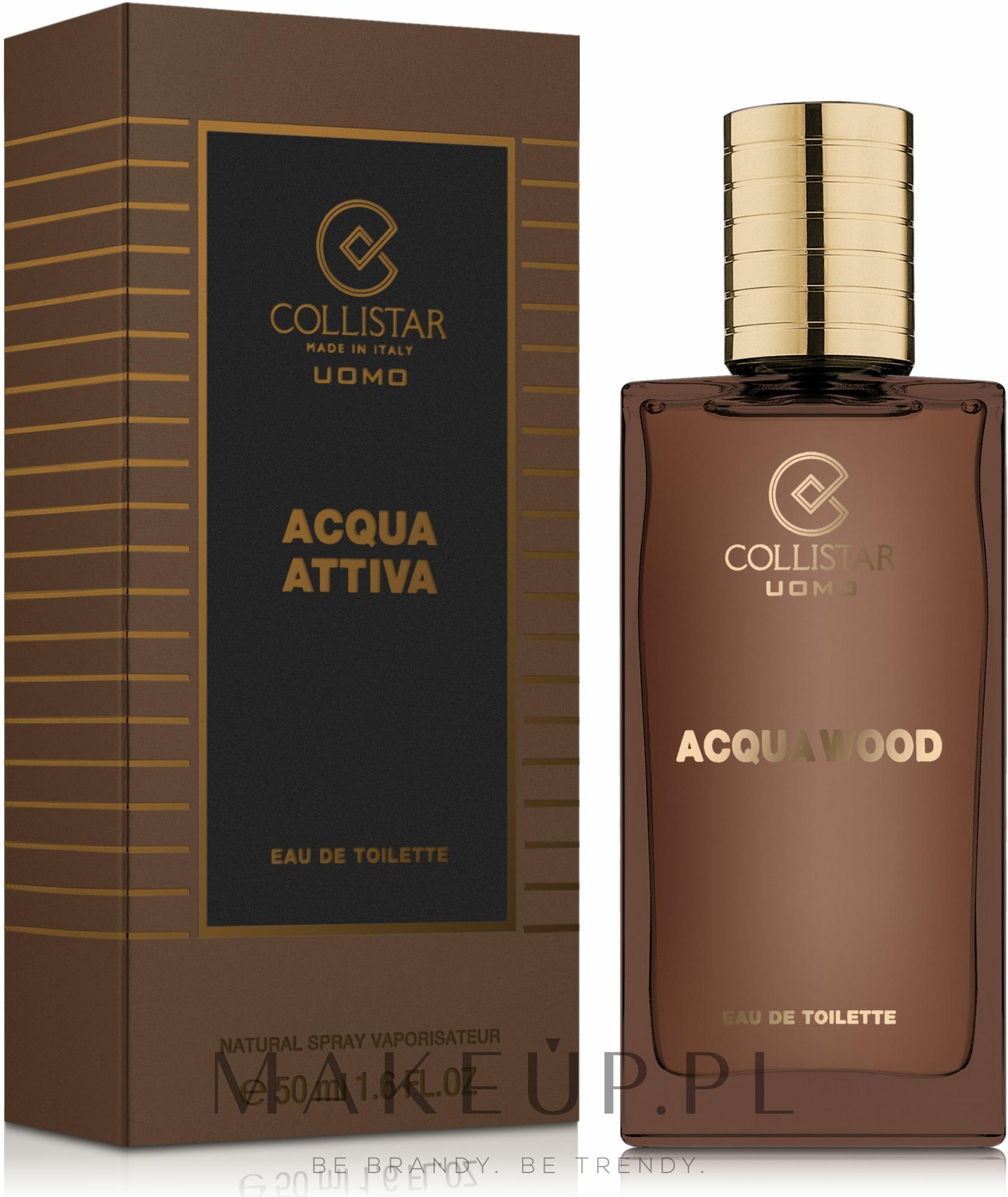 Collistar Acqua Wood - Woda toaletowa — фото 50 ml