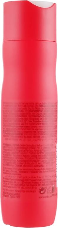 Szampon chroniący kolor farbowanych włosów grubych - Wella Professionals Invigo Color Brilliance Coarse Shampoo  — фото N2
