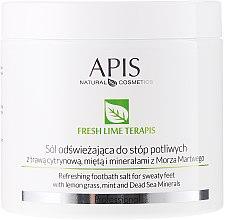Kup Odświeżająca sól do potliwych stóp - APIS Professional Fresh Lime TerApis