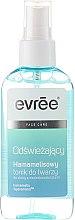 Kup Odświeżający tonik hamamelisowy do twarzy do skóry z niedoskonałościami - Evrēe Facial Care