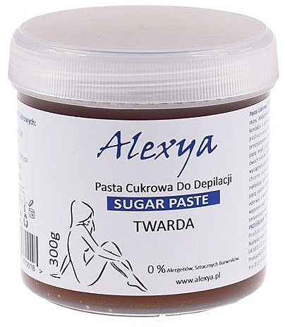 Pasta cukrowa do depilacji - Alexya Sugar Paste Twarda — фото N1