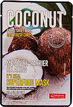 Kup Nawilżająca maseczka do twarzy - Dermal Mask Rice