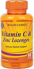 Kup Witamina C z cynkiem w żelowych kapsułkach - Holland & Barrett Vitamin C & Zinc Lozenges