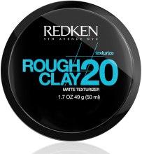 Kup Matująca glinka utrwalająca fryzurę - Redken Rough Clay Matte Texturizer 20