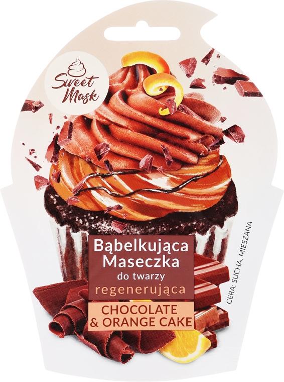 Regenerująca maseczka do twarzy Czekoladowa - Marion Sweet Mask Chocolate Orange Cake