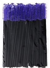 Kup Nylonowa szczoteczka do rzęs, czarno-niebieska - Novalia Group