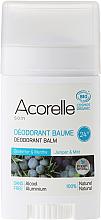 Kup PRZECENA! Dezodorant-balsam w sztyfcie Jałowiec i mięta - Acorelle Deodorant Balm *
