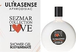 Kup Afrodyzjakowy żel pod prysznic i do higieny intymnej - Sezmar Collection Love Ultrasense Aphrodisiac Body & Intimate Shower Gel