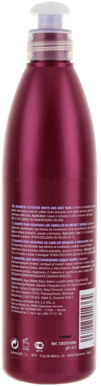 Szampon do włosów blond lub siwych - Revlon Professional Pro You White Hair Shampoo — фото N2