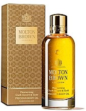 Kup Molton Brown Mesmerising Oudh Accord & Gold Precious Body Oil - Masło do ciała