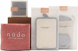 Kup Zestaw - Nudo Nature Made Skin Essentials (sh/sponge + f/sponge + bag + pads 7pcs)