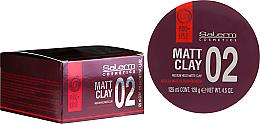 Kup PRZECENA! Matowa pomada do stylizacji włosów - Salerm Pro Line Matt Clay *