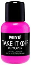 Kup Zmywacz do paznokci do lakieru tradycyjnego i hybrydowego - Miyo Take It Off Remover
