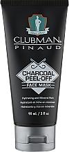 Kup Peelingująca maseczka do twarzy z węglem drzewnym - Clubman Pinaud Charcoal Peel-Off Face Mask