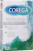 Kup Aktywne wybielające tabletki czyszczące do protez dentystycznych - Corega Whitening Tabs