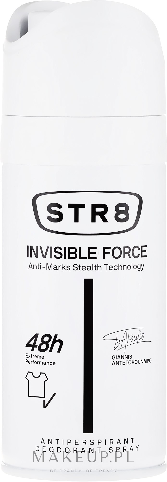 Dezodorant w sprayu - STR8 Invisible Force Antiperspirant Deodorant Spray  — фото 150 ml