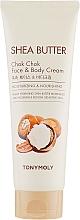 Kup Odżywczy krem do twarzy i ciała - Tony Moly Shea Butter Chok Chok Face & Body Cream