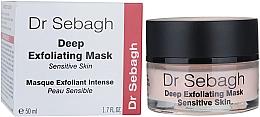 Kup PRZECENA! Maska głęboko złuszczająca do skóry wrażliwej - Dr Sebagh Deep Exfoliating Mask *