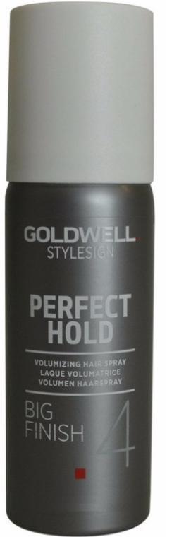 Lakier dodający włosom objętości - Goldwell Style Sign Perfect Hold Big Finish Volumizing Hairspray — фото N2