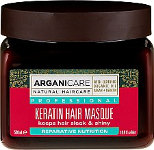 Kup Maska do wszystkich rodzajów włosów - Arganicare Keratin Nourishing Hair Masque