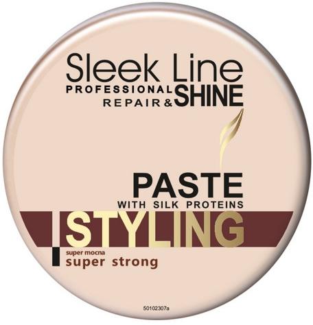 Supermocna pasta do stylizacji włosów - Stapiz Sleek Line Shine Styling Paste