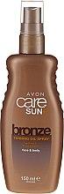 Kup Nawilżający olejek w sprayu do ciała wzmacniający opaleniznę - Avon Care Sun+ Moisturising Tan Enhancing Oil Spray