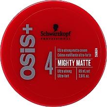 Kup Ultramocny krem matujący do włosów - Schwarzkopf Professional OSIS+ Mighty Matte Cream