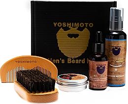 Kup Zestaw - Yoshimoto Gentleman's Code ST059 (comb + wax/30g + oil/30ml + comb + shm/100ml)