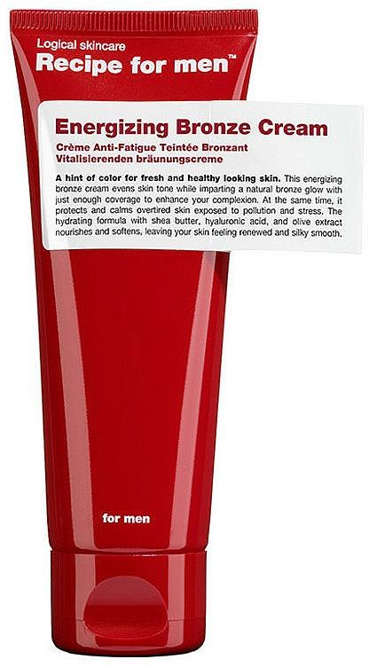 Krem brązujący do ciała dla mężczyzn - Recipe For Men Energizing Bronze Cream — фото N1