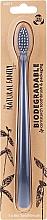 Kup Biodegradowalna szczoteczka do zębów, szara - The Natural Family Co Biodegradable Toothbrush