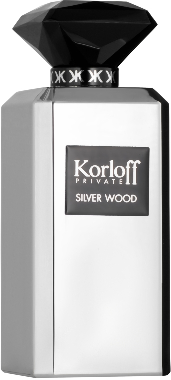 Korloff Paris Silver Wood - Woda perfumowana