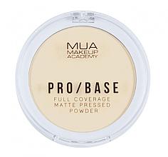 Kup Matujący puder prasowany do twarzy - MUA Pro-Base Full Coverage Matte Pressed Powder