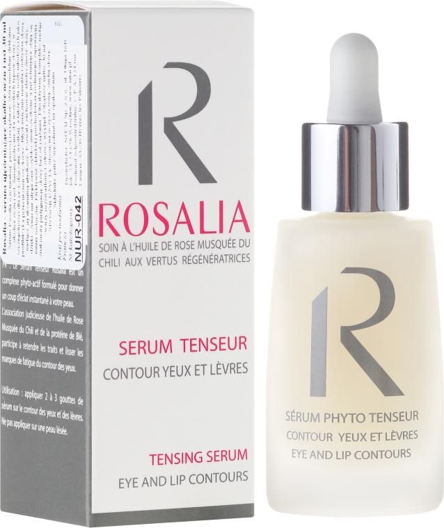 Ujędrniające serum do okolic oczu i ust - Naturado Rosalia Serum Eye And Lip Contours — фото N1