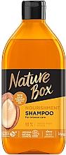 Kup Szampon odżywiająco-pielęgnujący z olejkiem arganowym - Nature Box Nourishment Vegan Shampoo With Cold Pressed Argan Oil