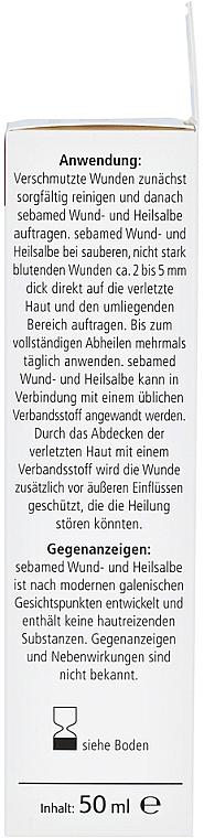 Maść wspomagająca gojenie się ran - Sebamed Wund- und Heilsalbe — фото N5